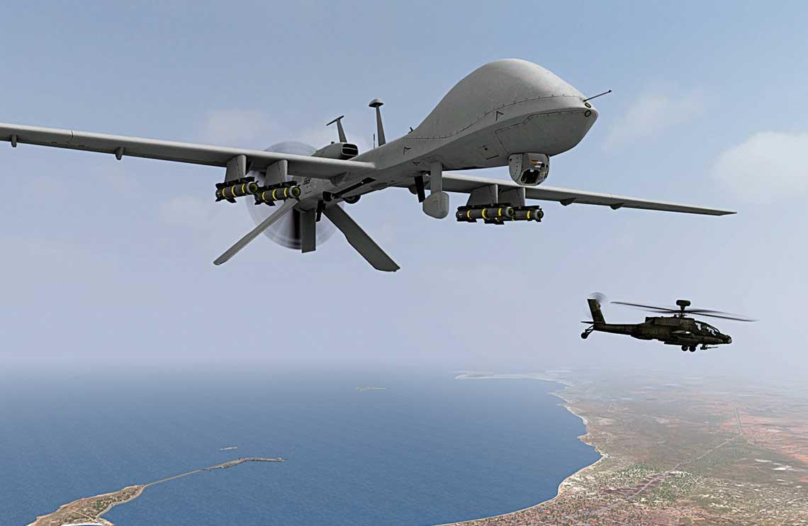 Wizja wspolpracy MQ-1C Gray Eagle z AH-64E juz sie ziscila, ale daleko jej jeszcze do poziomu wymaganego przez US Army.