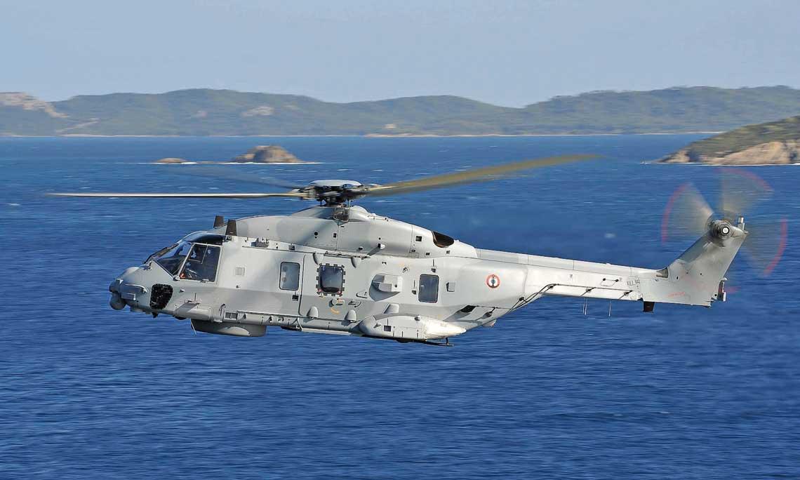 Marynarka Wojenna Francji otrzyma 14 NH90 NFH do zwalczania okrętów podwodnych i nawodnych. Fot. NHIndustries