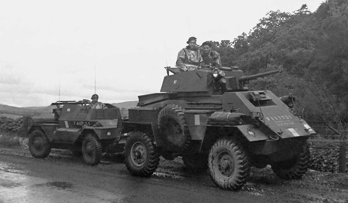 Samochody pancerne, zwiadowcze i transportery opancerzone Polskich Sil Zbrojnych na Zachodzie 1939-1945