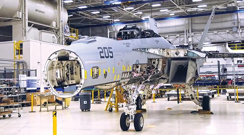 modernizacja Super Hornet