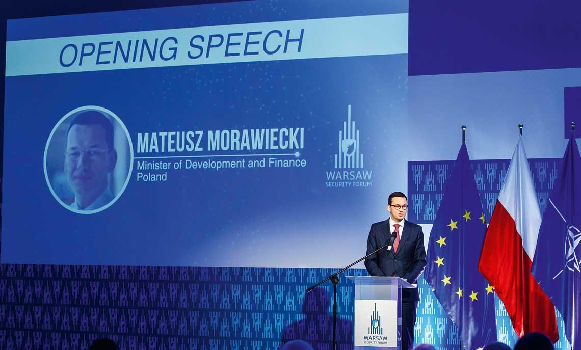 Przemowienie otwierajace WSF 2017 zudzialem wicepremiera, Ministra Rozwoju iFinansow Mateusza Morawieckiego