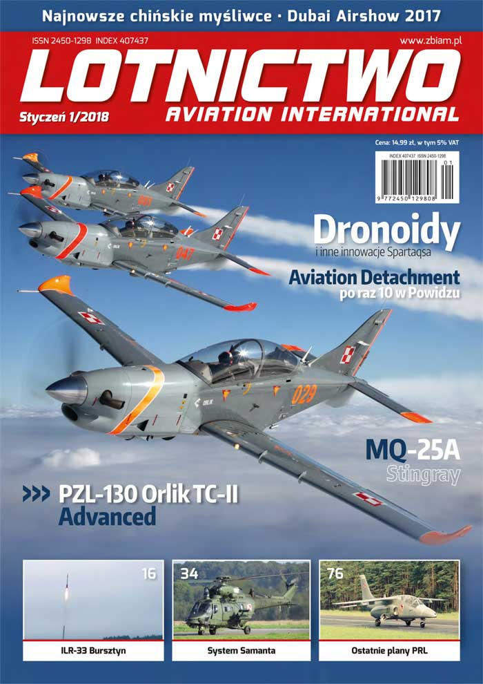 Lotnictwo Aviation International 1/2018