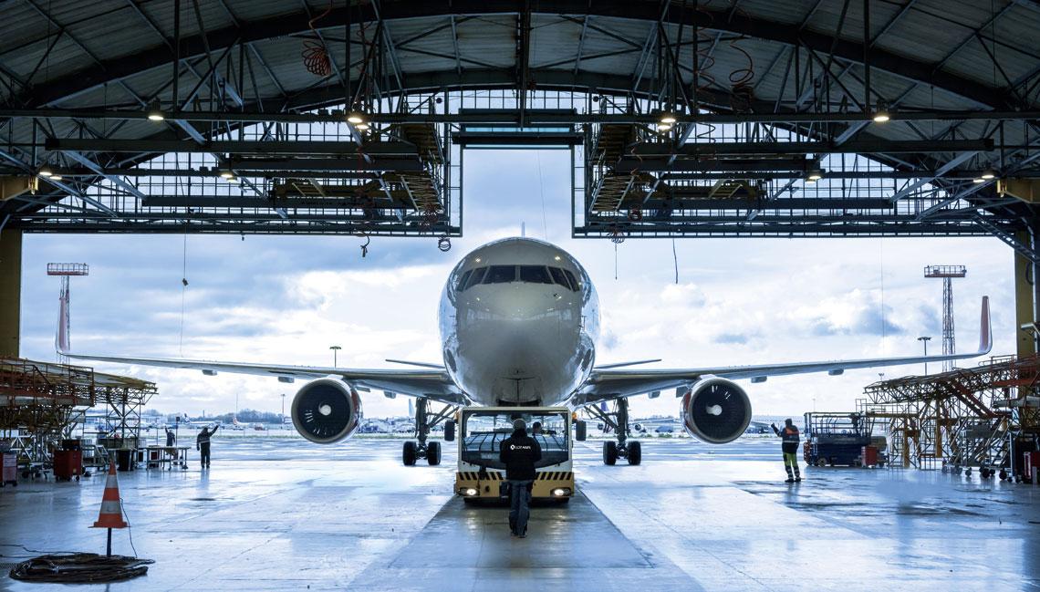 OTAMS jest największą firmą zajmującą się obsługą  techniczną samolotów komunikacyjnych w Polsce