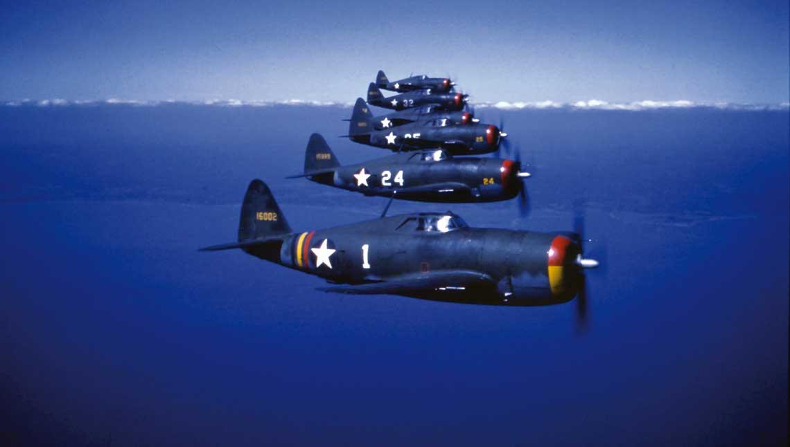 Wataha Zemkego. 56 Grupa Mysliwska USAAF