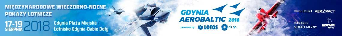 reklama Gdynia Aerobaltic 2018