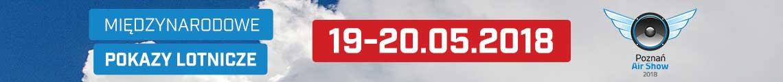 reklama Airshow Poznań