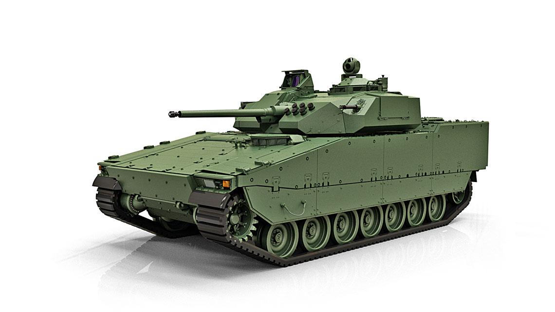 Niedawno ujawniony CV90 Mk IV na razie znajduje sie w fazie rozwoju, ale jest niezwykle wazny z punktu widzenia przyszlosci rodziny CV90. Lista zadeklarowanych zmian oznacza, że bedzie to wlasciwie nowy pojazd.