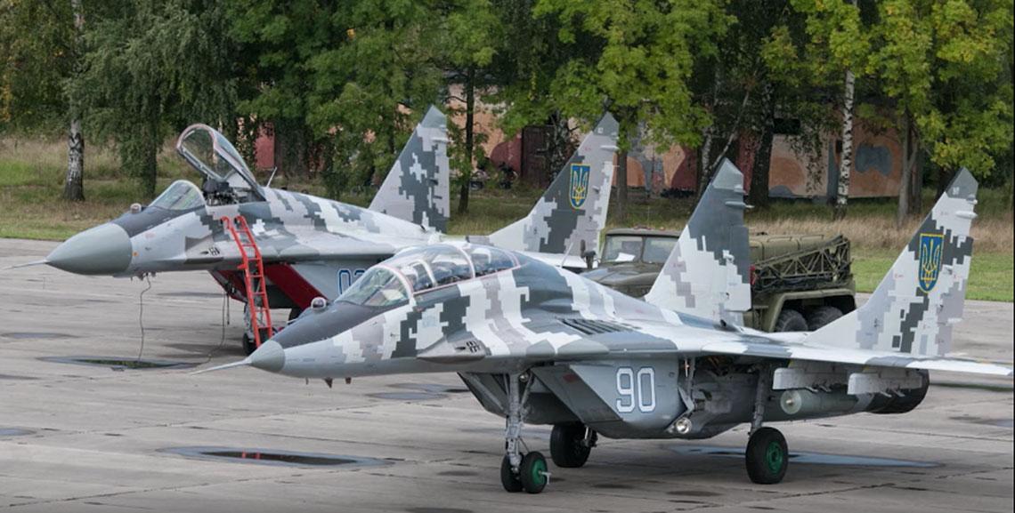 MiG-29 w konflikcie o Donbas