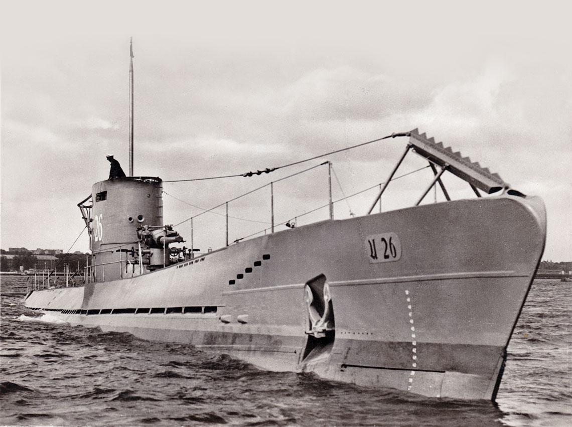 U26 w 1936 r.