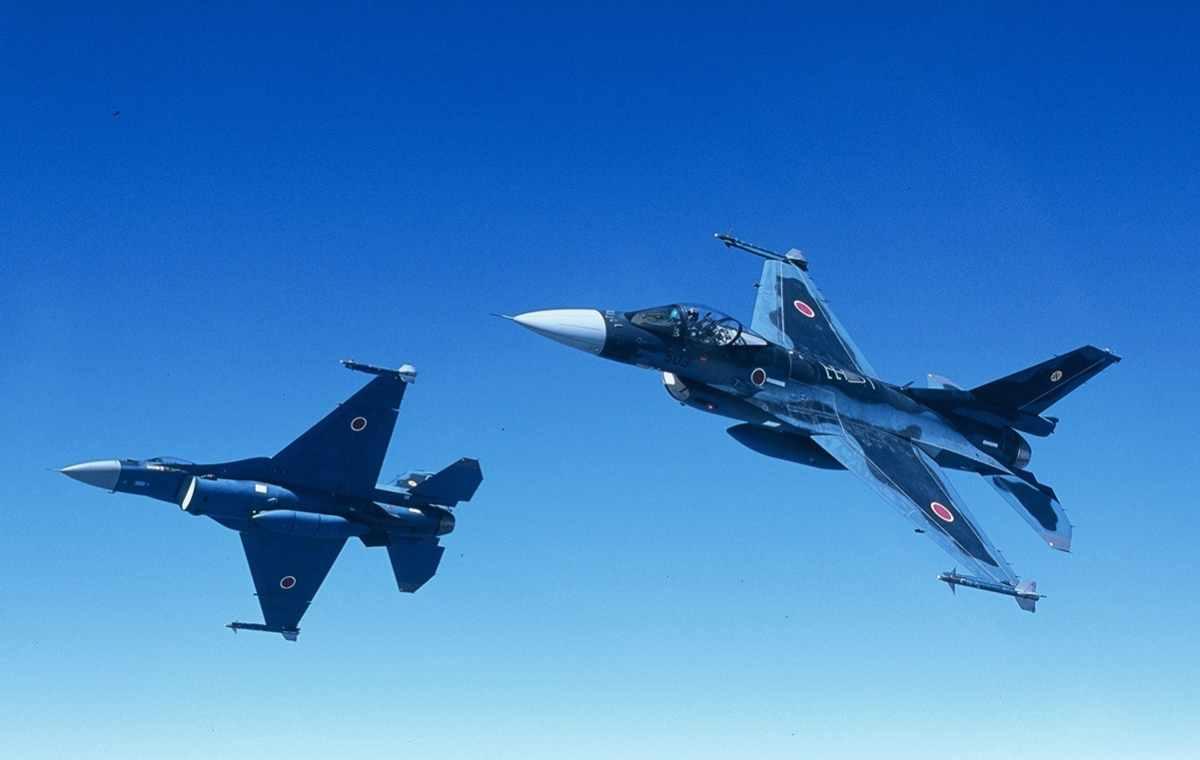 Według części analiz program F-2 kosztował czterokrotnie więcej od opracowania zaawansowanych wersji F-16 ‒ Block 50/52. Fot. Siły Samoobrony Japonii