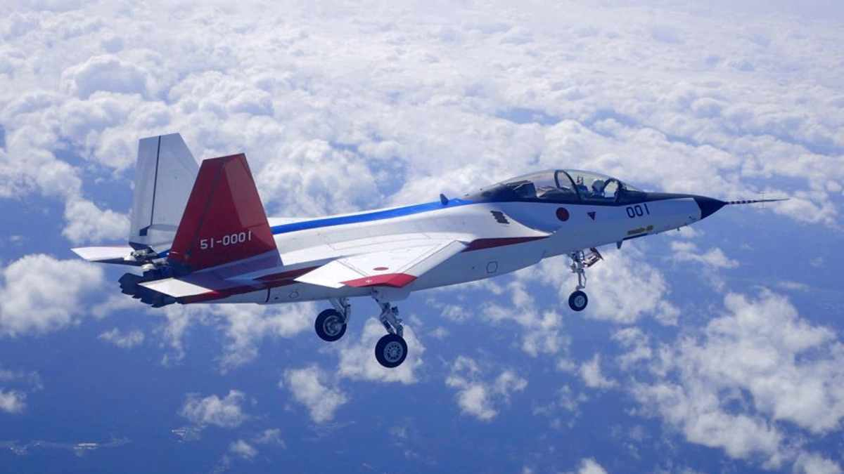 Dotychczas efektem programu F-3 jest demonstrator Mitsubishi X-2, który kosztował około 350 mln USD. Fot. Ministerstwo Obrony Japonii.