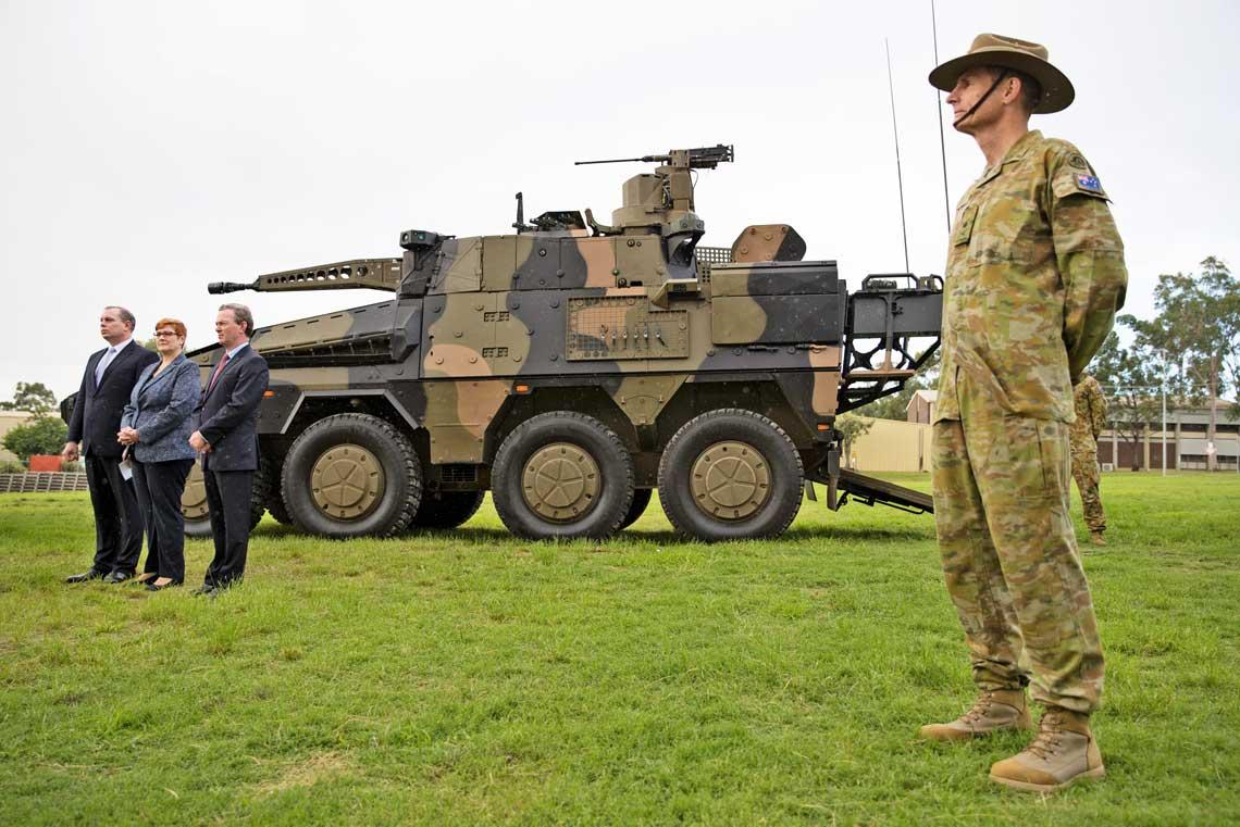 13marca premier Australii poinformował o wyborze Boxera CRV jako nastepcy pojazdow ASLAV w programie Land 400 Phase 2.