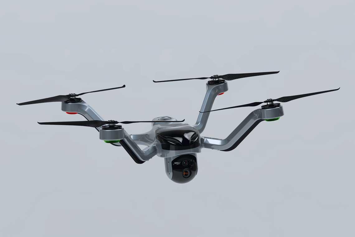 """DC-01 Mucha to najmlodsze """"dziecko"""" firmy UAVS Poland. Dwa kolejne projekty zostana zaprezentowane jeszcze w tym roku. Fot. UAVS Poland"""