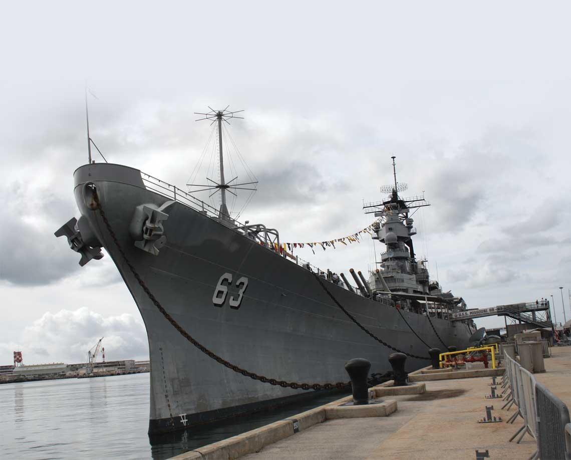 Pancernik-muzeum USS Missouri