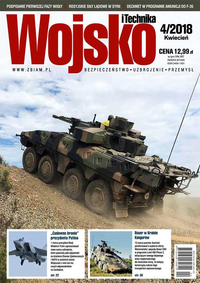 Czasopismo Wojsko i Technika 4/2018