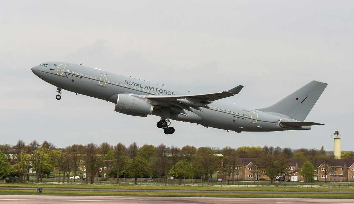 Wielka Brytania jest obecnie najwiekszym uzytkownikiem samolotow A330 MRTT, leasingujac czternascie maszyn tego typu.