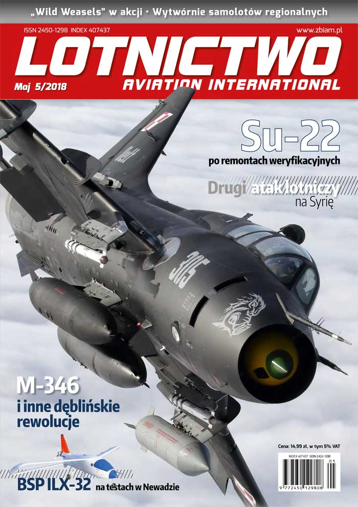 Lotnictwo Aviation International 5/2018