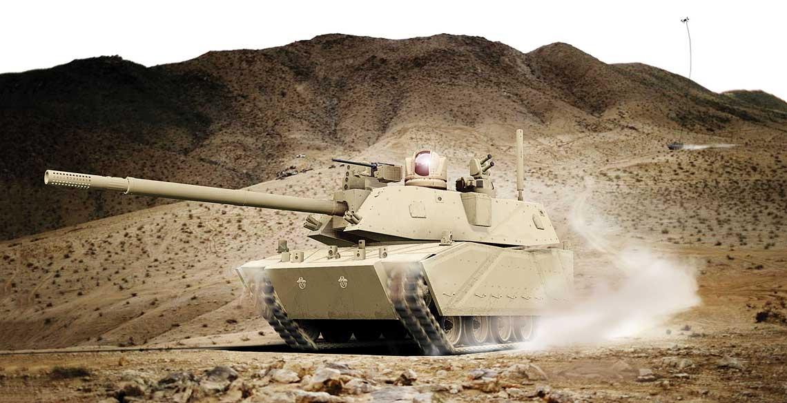 Byc moze tak bedzie wygladal czolg na bazie NGCV, nastepca Abramsa.