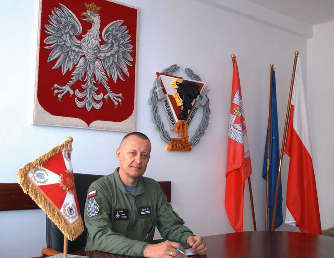 Pulkownik pilot Artur Kalko