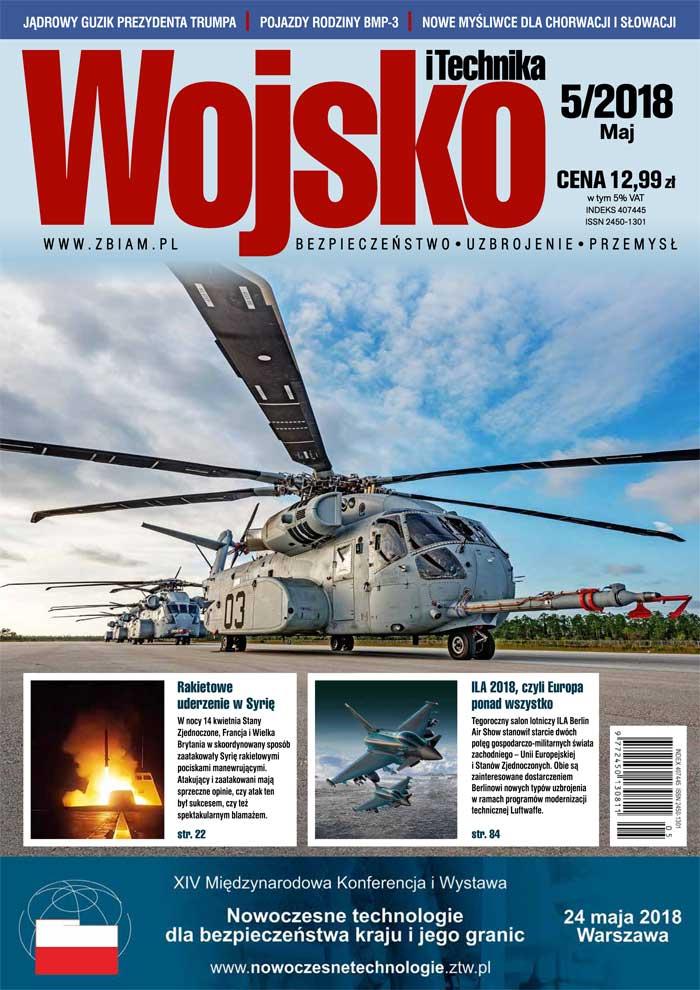 Czasopismo Wojsko i Technika 5/2018