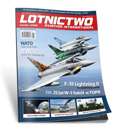 Lotnictwo Aviation International 6/2018