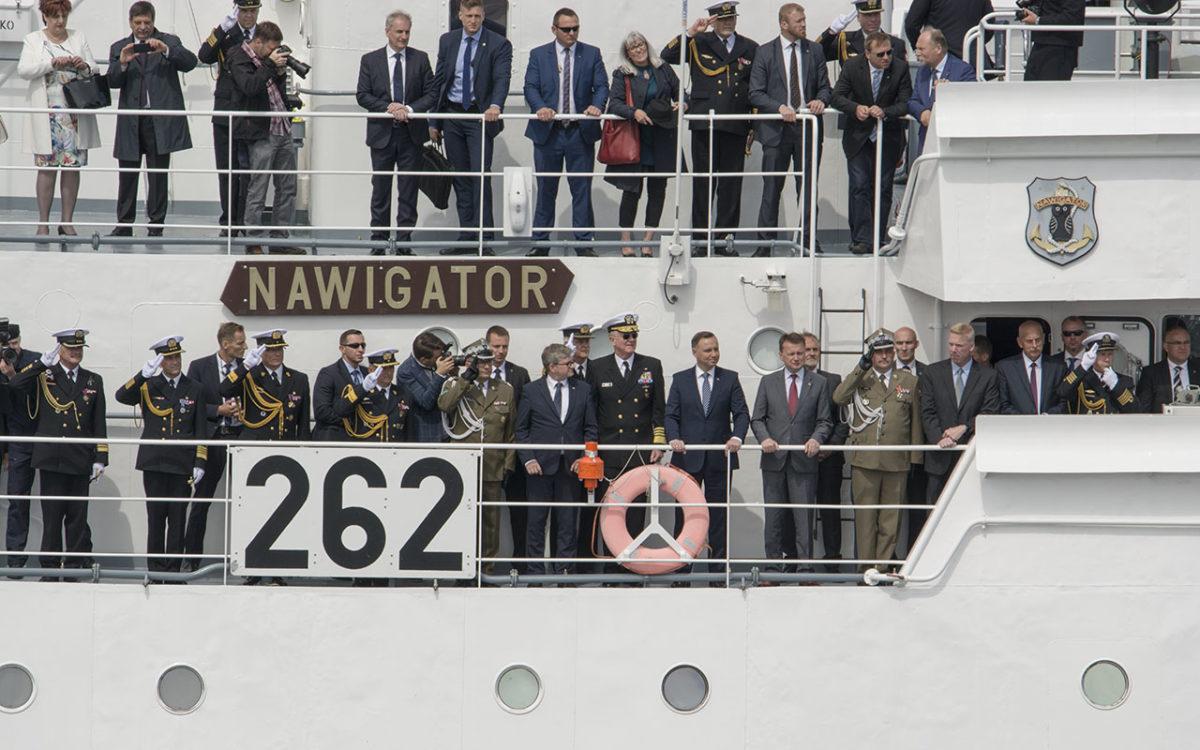 Święto Marynarki Wojennej – fotorelacja z parady morskiej 1