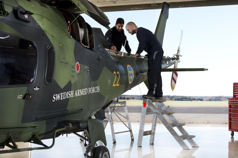 Saab nadal zajmie się szwedzkimi AW109M
