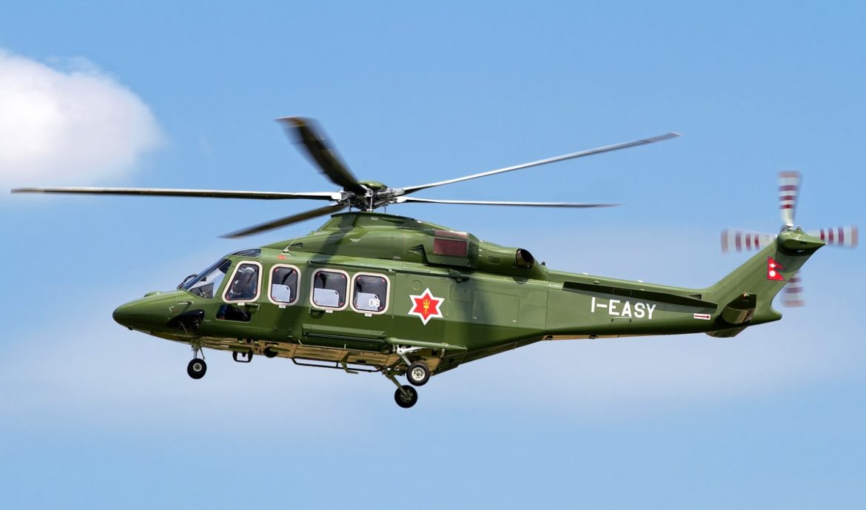 AW139 dla Nepalu