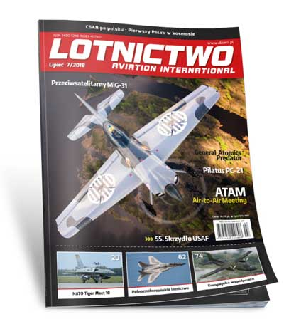 Lotnictwo Aviation International 7/2018