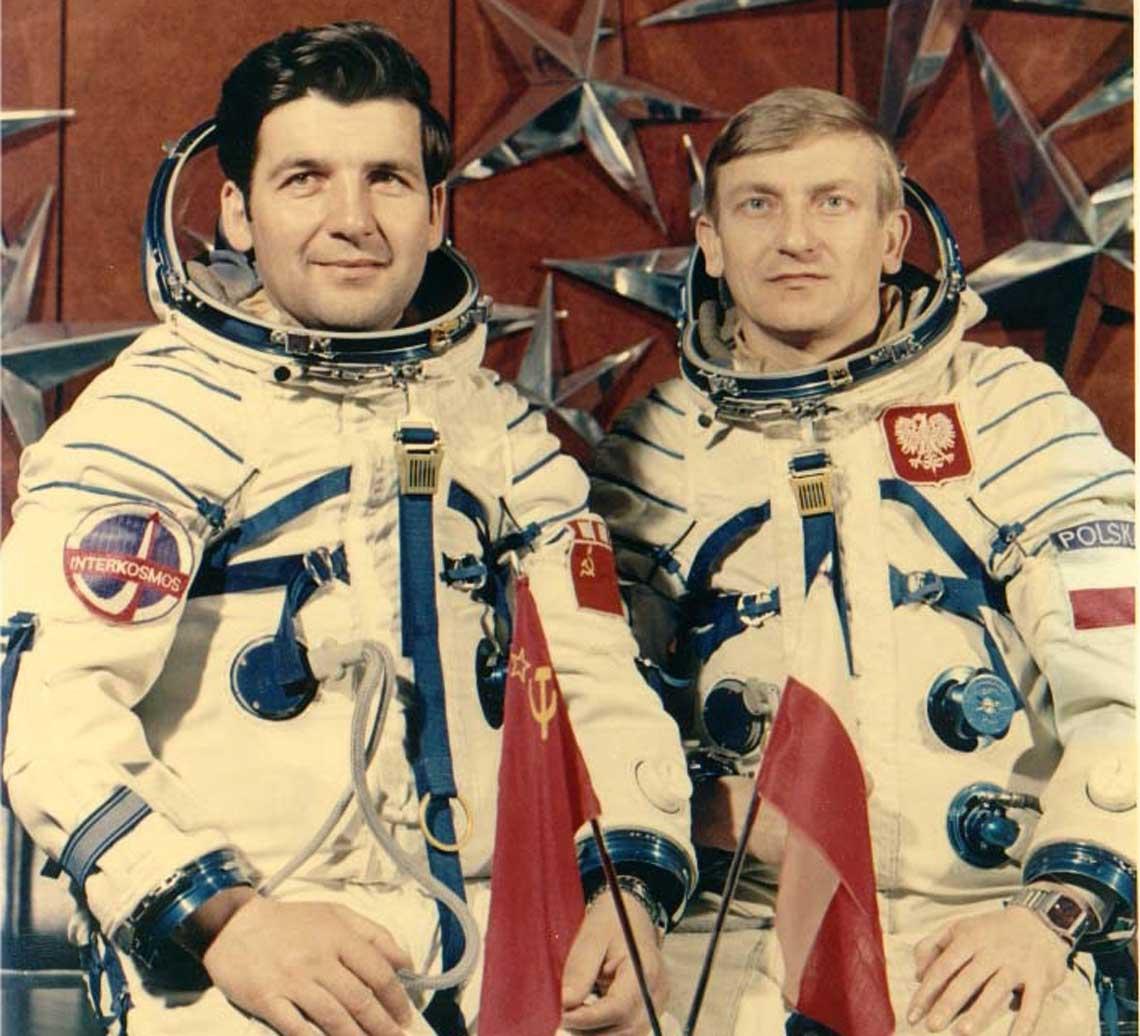 Pierwszy lot Polaka w kosmos