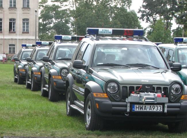 Concept dostarczy samochody Straży Granicznej
