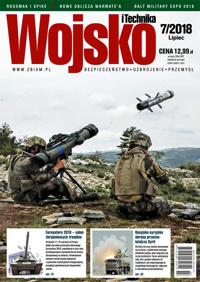 Czasopismo Wojsko i Technika 7/2018