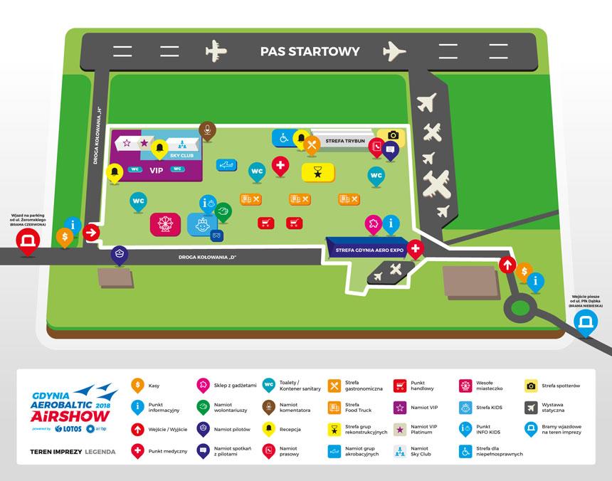 Gdynia Aerobaltic plan pokazów