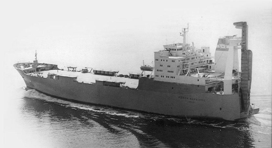 Statek ro-ro typu B-484 Høegh Banniere.