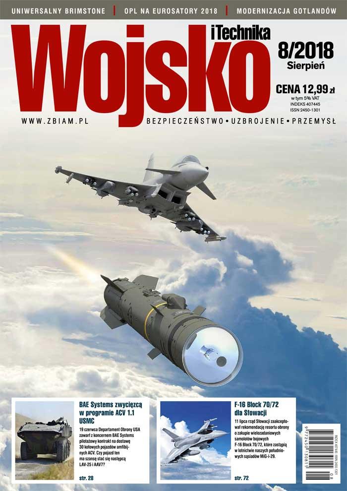 Czasopismo Wojsko i Technika 8/2018