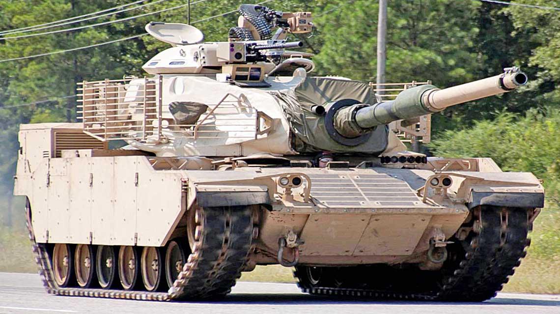 Czolg M60 SLEP, okreslany takze jako M60A4S, jest wspolna propozycja modernizacji wozow rodziny M60 koncernow Raytheon i L-3.