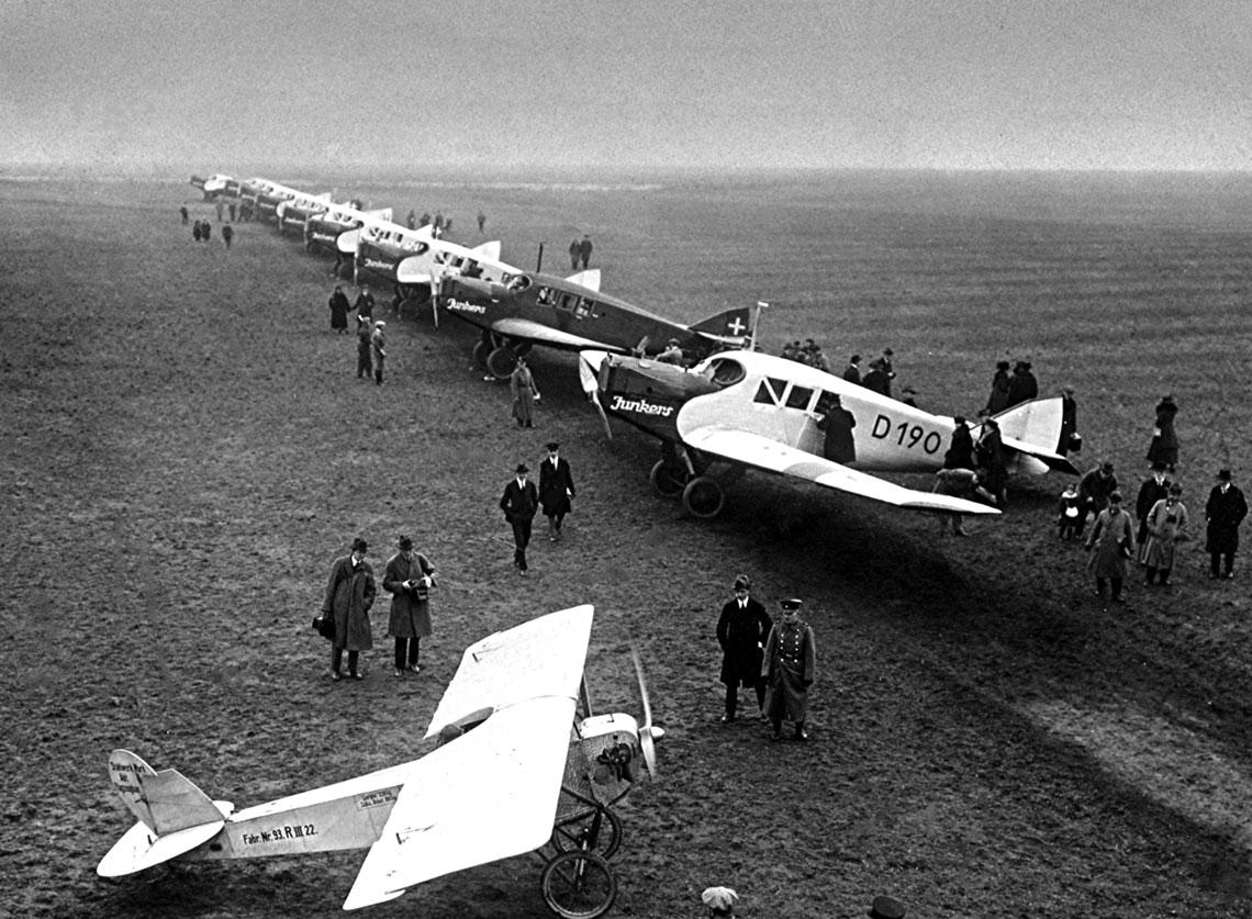 Geneza Luftwaffe. Niemieckie lotnictwo wojskowe do 1935 r.
