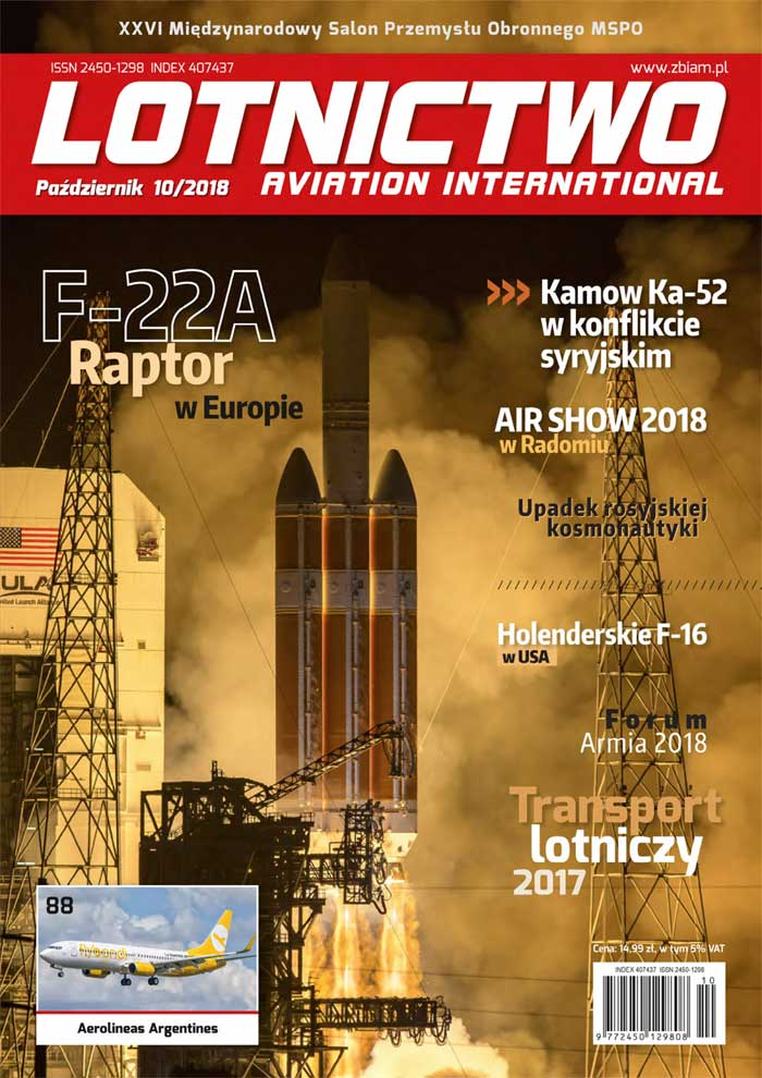 Lotnictwo Aviation International 10/2018
