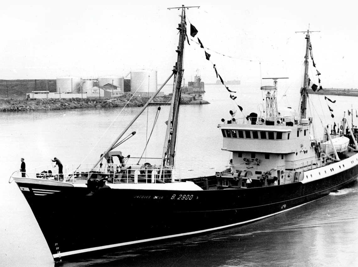 Trawler typu B-20/II/1 Jacques Coeur. Fot. zbiory Autora
