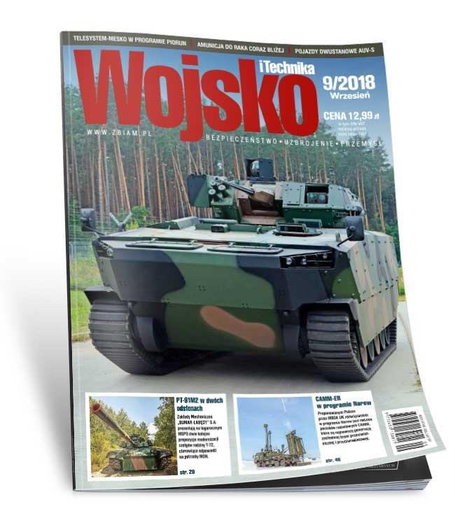 Czasopismo Wojsko i Technika 9/2018