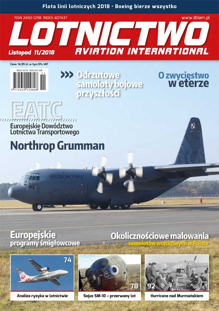 Lotnictwo Aviation International 11/2018