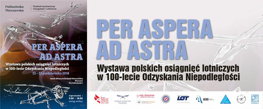 Polskie osiągnięcia lotnicze na wystawie Politechniki Warszawskiej