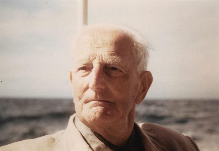 Józef Unrug na wakacjach w Sables d'Olonne we Francji, lato 1967 r. Fot. zbiory Mariusza Borowiaka