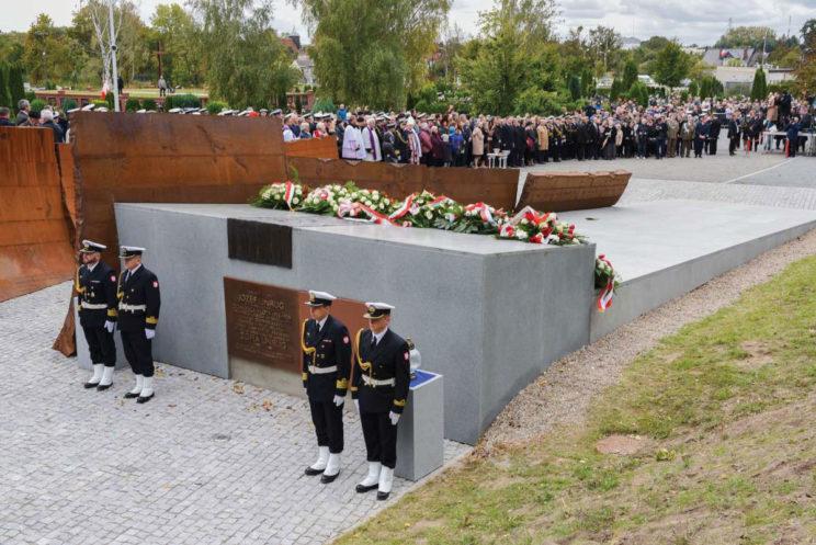 2 października 2018 r. roku, uroczysty pochówek Admirała w Kwaterze Pamięci na Cmentarzu Marynarki Wojennej. Fot. Piotr Leoniak/MW RP