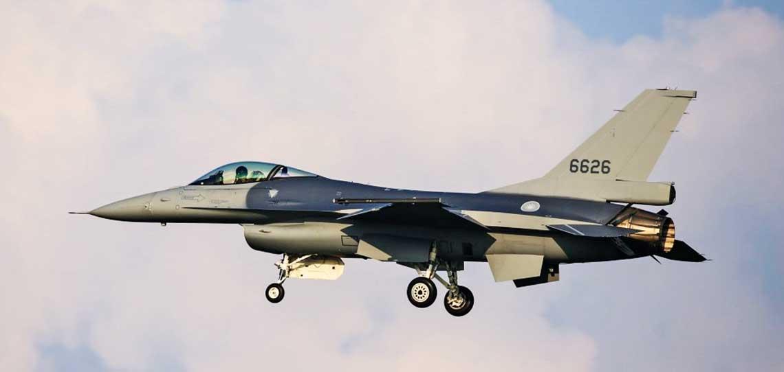 Pierwszy seryjny F-16V dostarczony Silom Powietrznym Republiki Chinskiej.