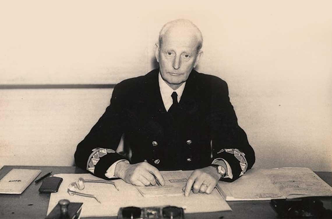 Kontradmiral Jozef Unrug. Fot. zbiory Horacego Unruga