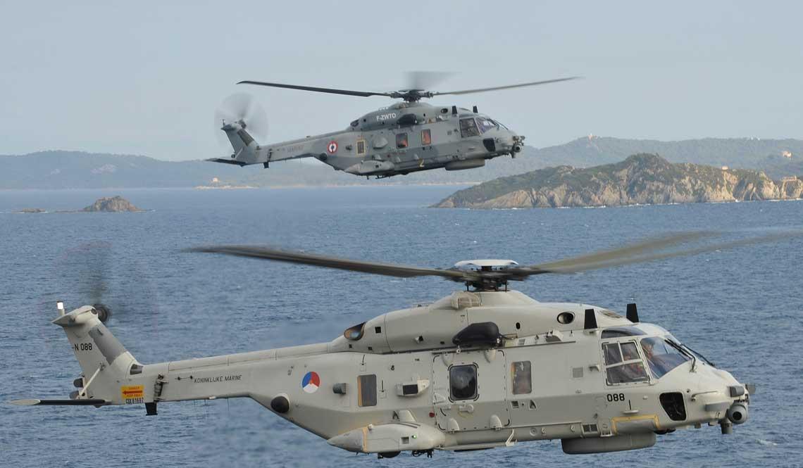 Europejski przemysl lotniczy od kilkudziesieciu lat wspolpracuje w obszarze projektowania i produkcji samolotow i smiglowcow na potrzeby sil zbrojnych NATO i na eksport. Jednym z duzych sukcesow jest wielozadaniowy smiglowiec sredni NH90.