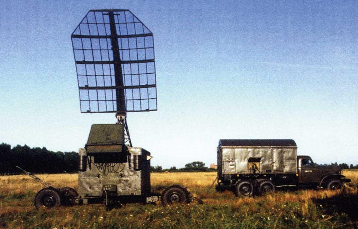 Stacja rozpoznania systemow radiolokacyjnych dalekiego zasiegu typu SDR-2. W wojskowym nazewnictwie kodowym otrzymala nazwe Marek. Fot. zbiory Autora