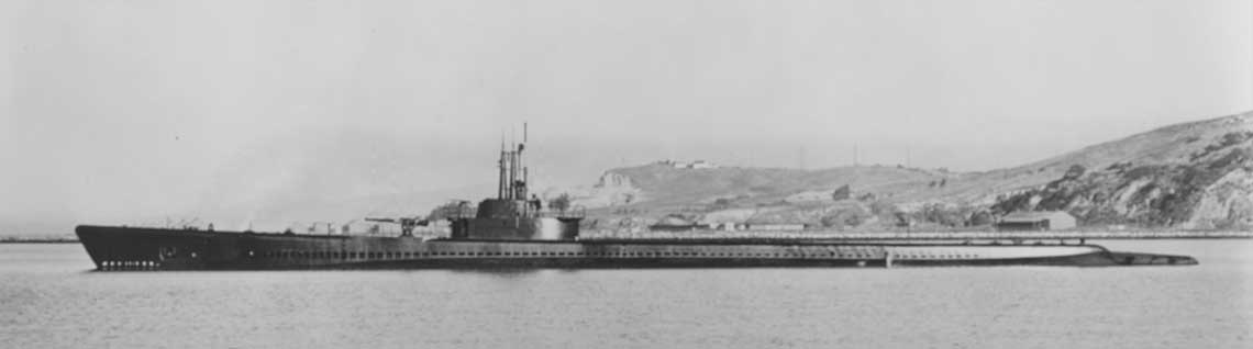 USS Tang po opuszczeniu Mare Island Navy Yard, 2 grudnia 1943 r. Fot. NHHC