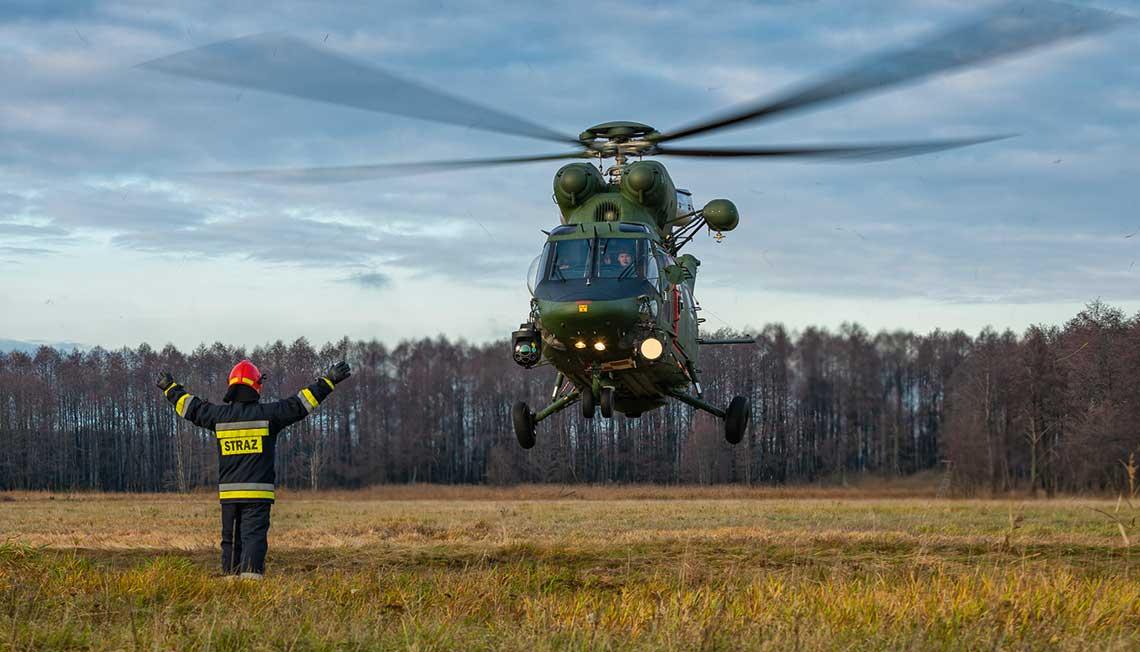 W sklad nowoutworzonego cywilno-wojskowego osrodka ARCC (Aeronautical Search and Rescue) wchodza trzy komponenty: glowny osrodek koordynacji, usytuowany w Polskiej Agencji Zeglugi Powietrznej (PAZP) oraz dwa wspolpracujące wojskowe osrodki podległe, zlokalizowane w strukturze COP-DKP (Centrum Operacji Powietrznych – Dowodztwo Komponentu Powietrznego) i COM-DKM (Centrum Operacji Morskich – Dowodztwo Komponentu Morskiego).